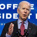 Presidente electo de EEUU, Joe Biden, en una rueda de prensa. 08/01/2021. REUTERS/Kevin Lamarque