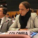 Adriana del Rosario Mendoza Agudelo,embajadora de Colombia ante la ONU,