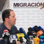 Francisco Espinosa,director de Migración Colombia,