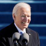 El presidente de los Estados Unidos Joe Biden durante la toma de posesión, en EEUU, el 20 de enero de 2021. Patrick Semansky/Pool vía REUTERS