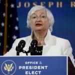 Janet Yellen, nominada por el presidente electo de Estados Unidos, Joe Biden, al cargo de secretaria del Tesoro, REUTERS/Leah Millis/Archivo