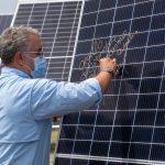 El Presidente Duque entregó oficialmente la segunda fase del parque solar Bosques de los Llanos, que se suma a la política de energías renovables en la matriz eléctrica de Colombia.Fotografía: David Romo– PRESIDENCIA