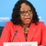 Carissa Etienne, directora de la Organización Panamericana de la Salud