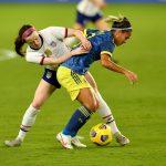 Selección Colombia femenina de mayores perdió 6-0 en amistoso frente a Estados Unidos