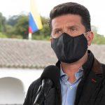El Presidente Duque convocó a  sus ministros y altos consejeros para hablar sobre logros del 2020, definir la hoja de ruta del 2021 y discutir implementación del 'Compromiso por Colombia', dijo el Director del Departamento Administrativo de la Presidencia,Diego Molano.