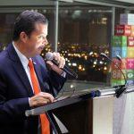 Julio Roberto Gómez ,presidente de la Confederación General de Trabajadores (CGT) de Colombia,