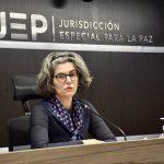 Magistrada de la JEP Julieta Lemaitre