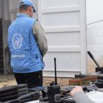 Observadores de la Misión de la ONU en Colombia. Foto Misión de la ONU en Colombia