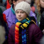 "La activista Greta Thunberg en marcha ""'Europe Climate Strike'', Bruselas. REUTERS/Johanna Geron/File Photo"