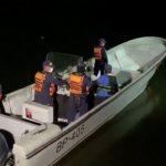La Armada está en operativo de búsqueda de las personas desaparecidas con ayuda de la Defensa Civil, Fuerza Aérea, Ejército y Policía. / Armada Nacional