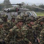 Tropas del Ejército de Colombia acantonadas en una base militar de la ciudad de Popayán, en el departamento del Cauca. REUTERS/Jaime Saldarriaga