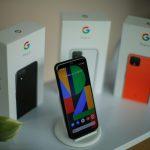 Google Pixel 4 en un evento en Nueva York .REUTERS/EduardoMuñoz