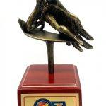 Estatuilla del Premio Nacional de Periodistas CPB