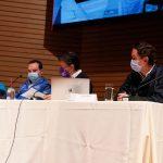 La instalación del Puesto de Mando Unificado para el plan de vacunación en Bogotá