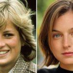 """Emma Corrin, de 25 años, quien interpretó a la joven princesa Diana en """"The Crown"""" ganó el premio a mejor actriz dramática de televisión"""