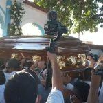 Sepelio Jorge Oñate en La Paz. Foto Cortesía