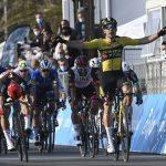 Wout Van Aert gana la Etapa 1 del Tirreno-Adriatico