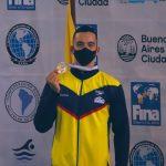 Juan Manuel Morales, nuevo campeón sudamericano en natación