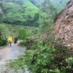 Deslizamiento de tierra en Marmato