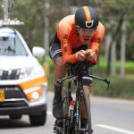 Una gran victoria obtuvo este miércoles el antioqueño Víctor Alejandro Ocampo en la tercera jornada de la Vuelta de la Juventud Mindeporte 2021