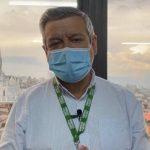 Secretario de Salud de Manizales, Carlos Humberto Orozco. / Caracol Radio