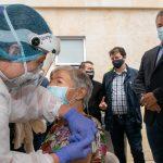 María Isabel Avendaño de Maldonado, de 80 años, fue la persona que recibió la vacuna número tres millones