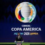 Presidente de la Conmebol, Alejandro Dominguez, durante el sorteo de la Copa América de Argentina y Colombia. REUTERS/Luisa Gonzalez