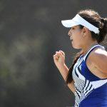 Camila Osorio logró la clasificación a octavos de final del WTA 250 de Charleston. Foto: Chris Smith.