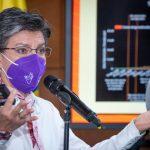 Alcaldesa de Bogotá, Claudia López anuncia nuevas restricciones y otras se mantienen. Fotos Alcaldía Mayor de Bogotá