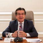 Fernando Ruiz Gómez,ministro de Salud y Protección Social y copresidente del mecanismo COVAX