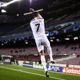 Cristiano Ronaldo celebra un gol en el partido de Champions celebrado entre el FC Barcelona y el Juventus. IMAGO / EUROPA PRESS / Europa Press