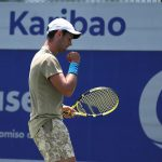 Nicolás Mejía, tenista colombiano. Cortesía/Challenger de Salinas