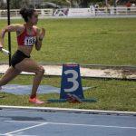 Melissa González, oro en 400 metros vallas.