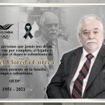 Rafael Lloreda Currea,,tesorero del Comite Olímpico colombiano