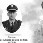 Capitán Jesús Alberto Solano, director de la SIJIN de la Policía en Soacha