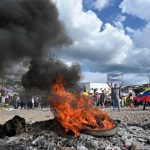 Septimo día de Paro en Colombia