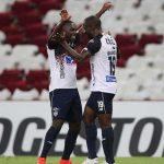 junior venció 1-2 a Fluminense  por la Copa Libertadores