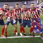 Atlético de Madrid es el campeón de la Liga de España