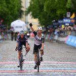El ciclista belga Victor Campenaerts (Qhubeka ASSOS) gano la decimoquinta etapa del Giro de Italia