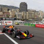 Red Bull de Max Verstappen durante el GP de Monaco de la F1. May 23, 2021 REUTERS/Eric Gaillard