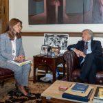 La Canciller Marta Lucía Ramírez, se reunió este lunes en Washington con el secretario general de la OEA, Luis Almagro3