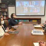 Vicepresidenta Marta Lucia Ramírez y delegados de la CIDH / Cortesía: Vicepresidencia