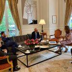 Vicepresidenta Ramirez se reunio con Juan González,Director Senior para el Hemisferio Occidental del Consejo Nacional de Seguridad de la Casa Blanca