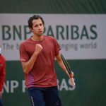 Daniel Galán superó por segunda vez un cuadro de clasificación en Grand Slam. Foto: Philippe Montigny / FFT.