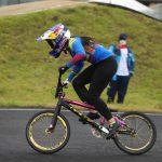 Mariana Pajón se llevó el oro de la tercera válida de la Copa Mundo de BMX Bogotá 2021-