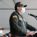 Brigadier general Jorge Eliécer Camacho Jiménez, nuevo comandante de la Policía Metropolitana de Bogotá.