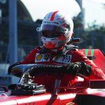 Fórmula Uno F1 - Gran Premio de Azerbaiyán - Circuito de la Ciudad de Bakú, Bakú, Azerbaiyán. 5 de junio de 2021. Charles Leclerc de Ferrari después de calificar en la pole position. Pool via REUTERS/Maxim Shemetov