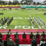 Ceremonia de ascenso a 134 nuevos subtenientes de la Policía Nacional