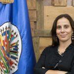 Presidenta de la CIDH, Antonia Urrejola,