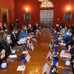 Primera reunión preparatoria, previa al inicio de su visita de trabajo en Colombia de La CIDH fue con la Canciller Nacional, Marta Lucía Ramírez y autoridades del Poder Ejecutivo